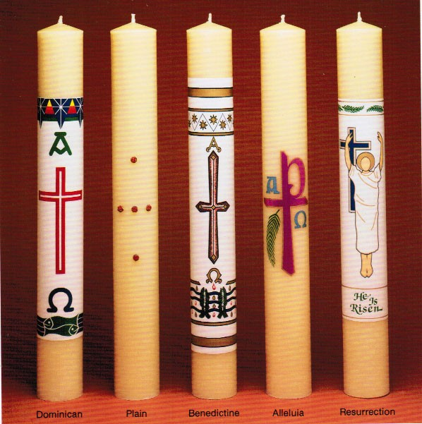 Mechanical Paschal Candles