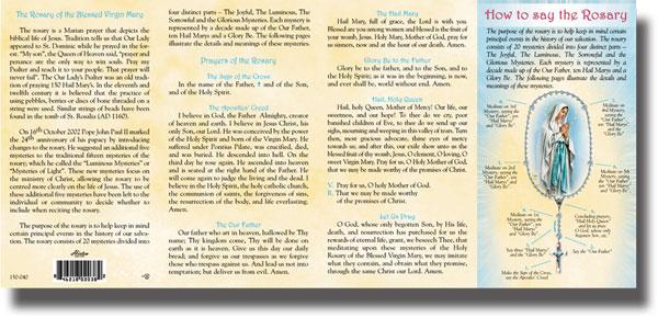 graphic regarding How to Pray the Rosary Printable referred to as Sacco Business enterprise \u003e The Rosary \u003e HOW Toward PRAY THE ROSARY - PAMPHLET