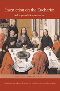 INSTRUCTION ON THE EUCHARIST