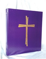 SERVICE BINDER PURPLE - 19-5004