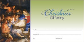 CHRISTMAS OFFERING ENVELOPE - 3064