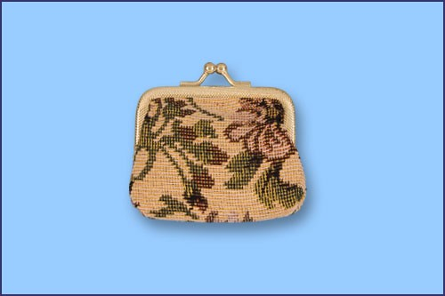 TAPESTRY ROSARY CASE