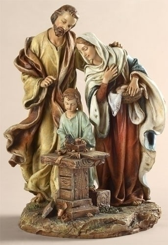 9-1/2 INCH HOLY FAMILY