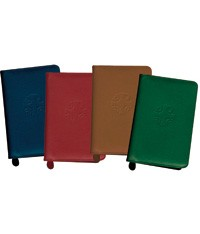 LITURGY  OF THE HOURS - COLOR LEATHER ZIPPER CASES