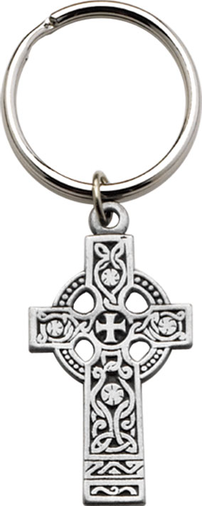 CELTIC CROSS KEY CHAIN