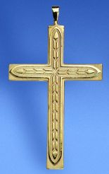 PECTORAL CROSS 14KT GOLD