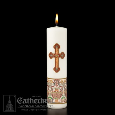 INVESTITURE CHRIST CANDLE - 44-0092