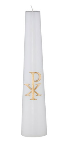 CHI RHO CHRIST CANDLE - 44-0093