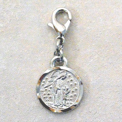GUARDIAN ANGEL CLIP ON CHARM