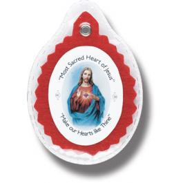 SACRED HEART BADGE IN