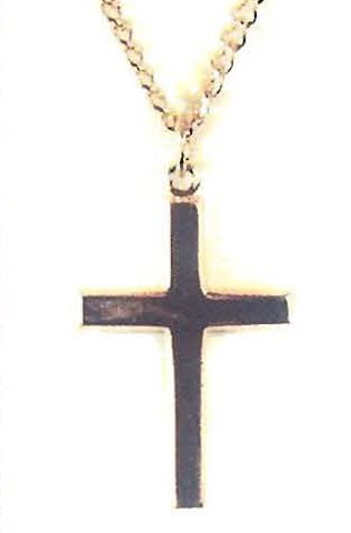 GOLD PLATED BRASS CROSS