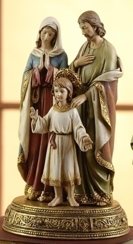 10-1/2 INCH HOLY FAMILY
