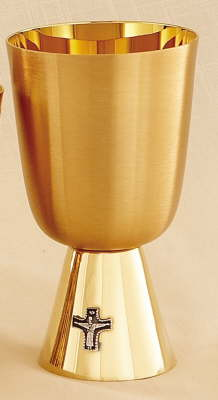 COMMON CUP 12oz GOLD PLATED