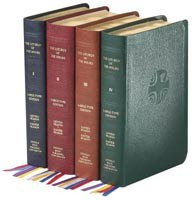 LITURGY OF THE HOURS FOUR VOLUME SET - LARGE PRINT