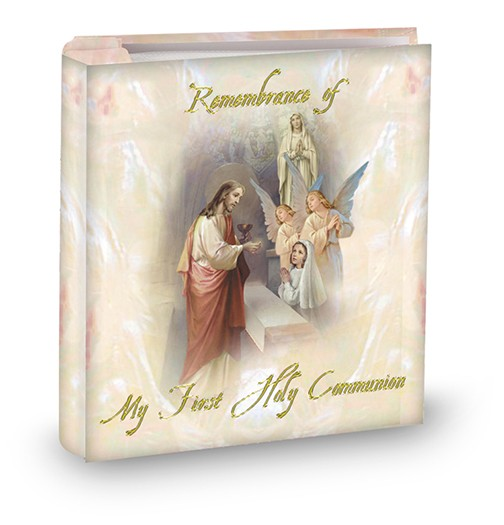 COMMUNION REMEMBRANCE PHOTO ALBUM - GIRL