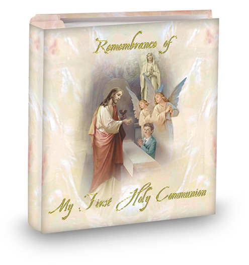 COMMUNION REMEMBRANCE PHOTO ALBUM - BOY