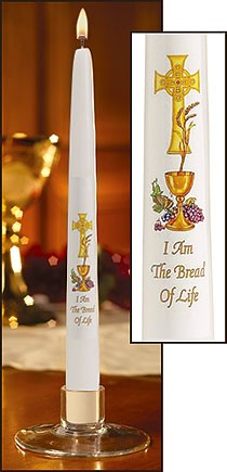 10 inch COMMUNION CANDLE