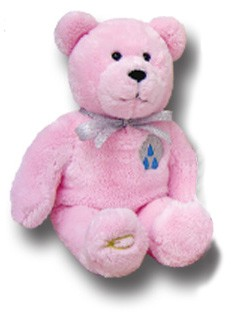 KEEPSAKE BEARS BAPTISM PINK