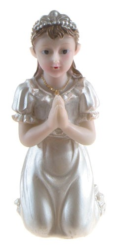 COMMUNION CAKE TOPPER - GIRL - 73-6051