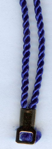 30 INCH BLUE CORD
