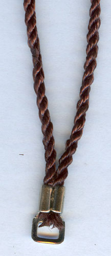 30 INCH BROWN CORD