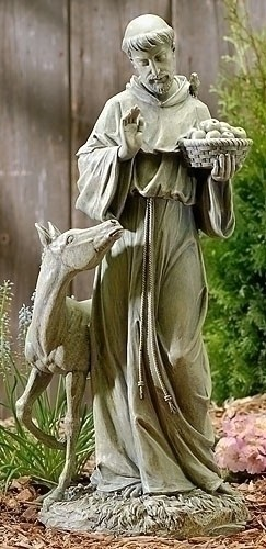 ST FRANCIS OF ASSISI WITH HORSE