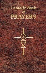 CATHOLIC BOOK OF PRAYERS - BROWN VINYL COVER