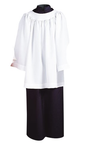 ROUND YOKE SURPLICE 3/4 OR LONG SLEEVE - 97-2907