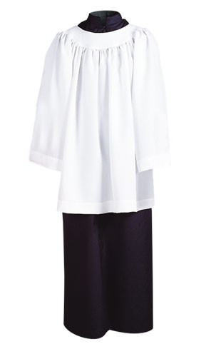 ROUND YOKE LITURGICAL SURPLICE