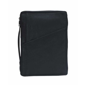 BLACK LEATHER BIBLE CASE