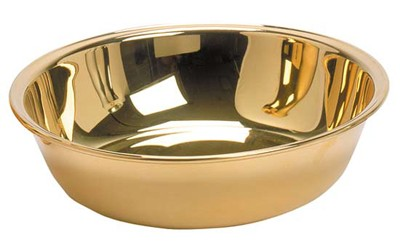 K218-G BASIN PEWTER GOLD PLATED
