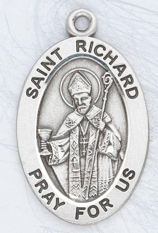 ST RICHARD PATRON SAINT MEDAL