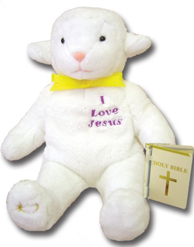 KEEPSAKE BEARS-I LOVE JESUS