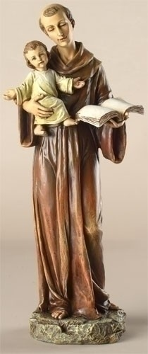 St Anthony Statue 10 inch