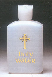 HOLY WATER BOTTLE- 4 oz