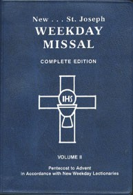 WEEKDAY MISSAL VOL II
