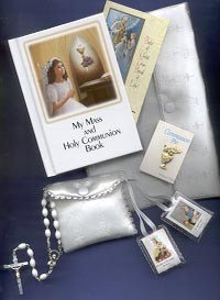 MY MASS AND HOLY COMMUNION MISSAL SET - PURSE