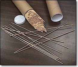 WOOD LIGHTING STICKS - TUBE OF 1000