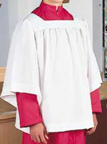 SQUARE YOKE SURPLICE 3/4 LENGTH SLEEVE - 97-2906