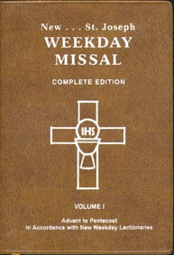 WEEKDAY MISSAL VOL I