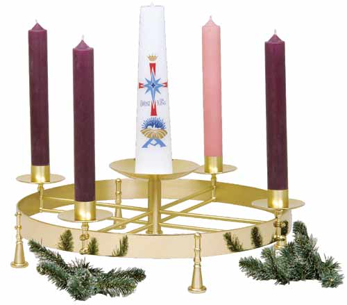 TABLE TOP ADVENTCANDLE STAND