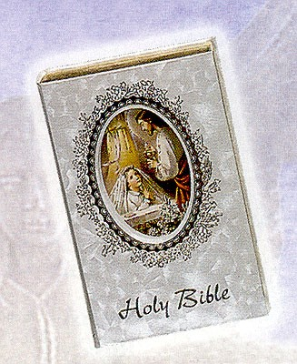COMMUNION SELECTED VERSE BIBLE - GIRL