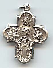 4 WAY CROSS PENDANT