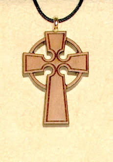 CELTIC WOODEN CROSS