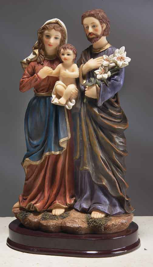 6 & 9 INCH HOLY FAMILY