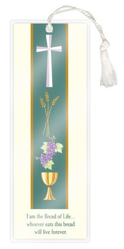 COMMUNION LAMINATED BOOKMARK