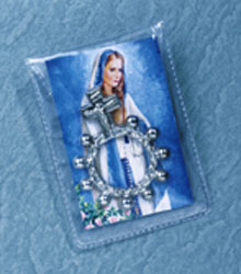 METAL FINGER ROSARY PACKET