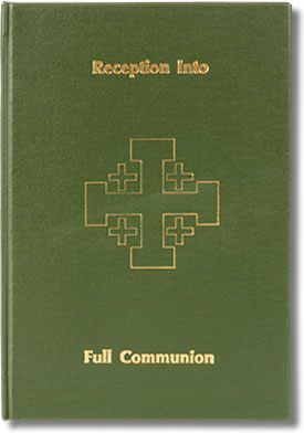 RECEPTION INTO FULL COMMUNION - REGISTER