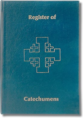 RECEPTION OF CATECHUMENS - REGISTER