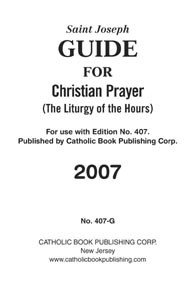 GUIDE FOR CHRISTIAN PRAYER - LARGE PRINT